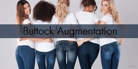 Buttock Augmentation Models in Jeans